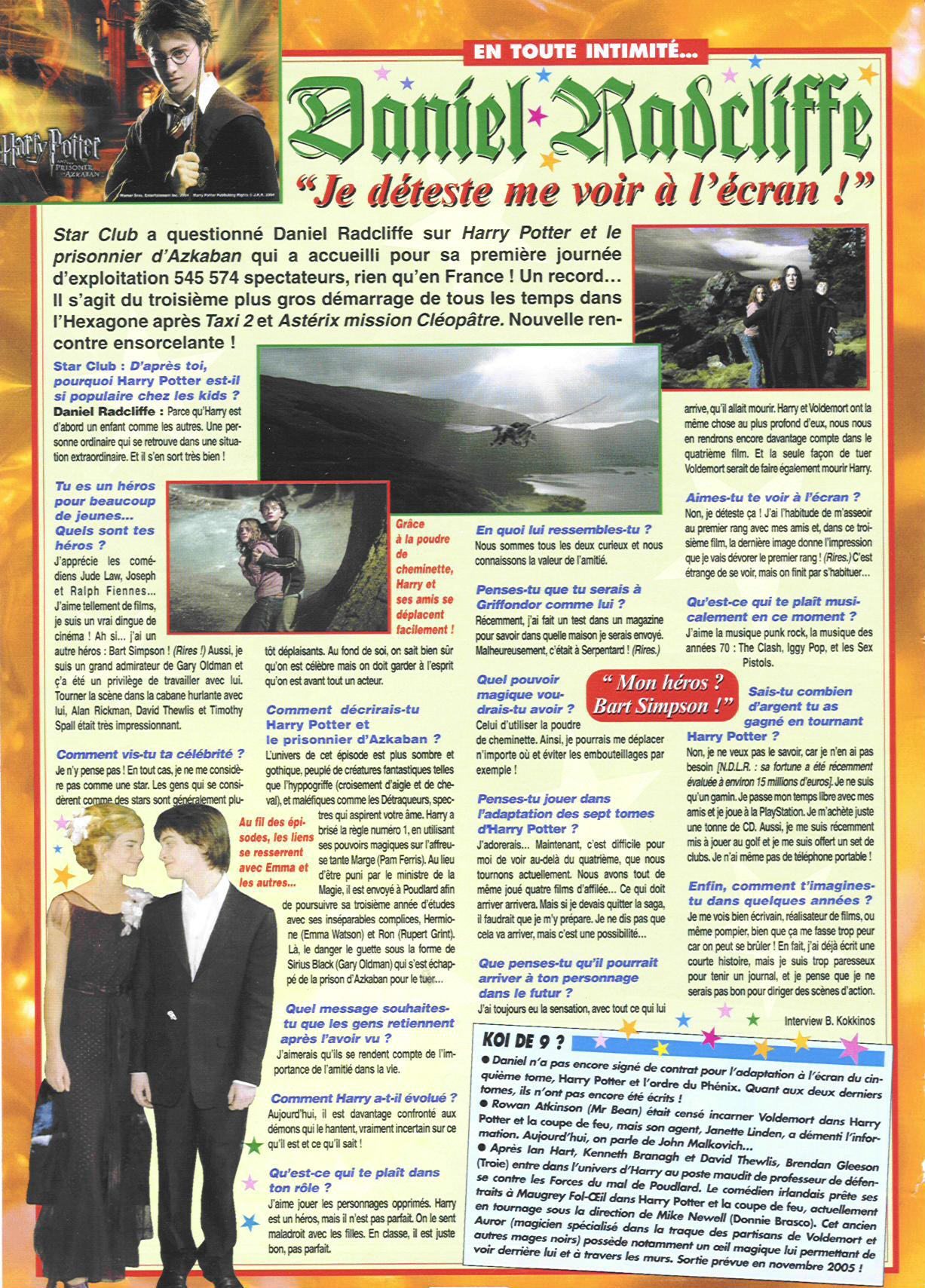interview star club daniel radcliffe ados fr juillet2004starclub1